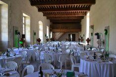 Salle de l'Orangerie pour mariage et réceptions, Château de la Ferté Saint Aubin.