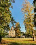 Couleurs automnales dans le parc du Château de la Ferté Saint Aubin.